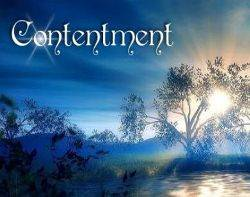 Contentment is a Sign of Wealth