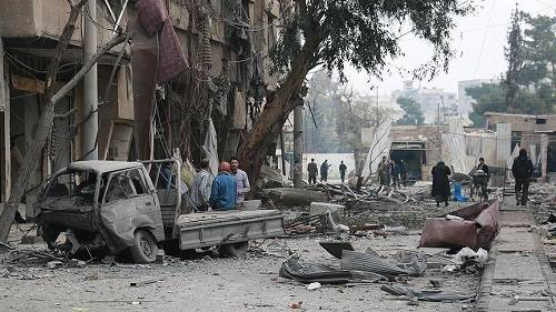 1,389 civilians killed in Syria in February: Watchdog