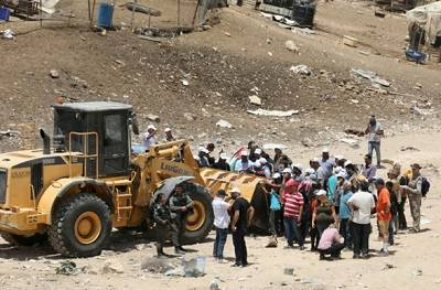 Bulldozing Palestine, one village at a time