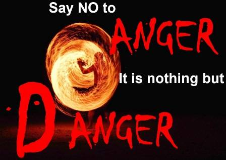 Avoiding anger
