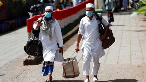 How the coronavirus outbreak in India was blamed on Muslims