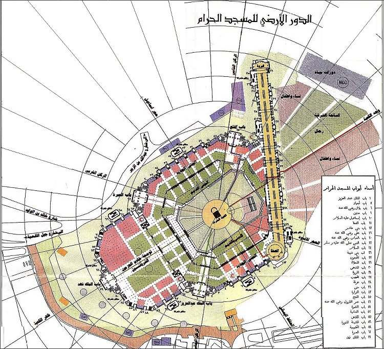 صور وخرائط الشبكة الإسلامية